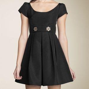 Nanette Lepore Epic Ottoman Black Dress Size 2